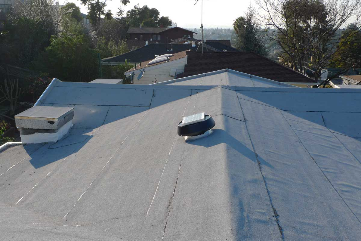 Comp asphalt shingles vs modified bituminous roof for Roofing forum