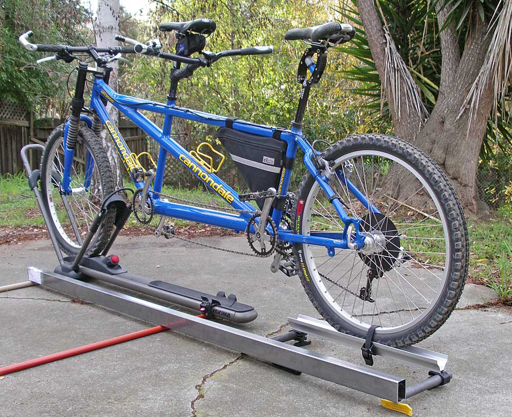 Roof Racks For Mountain Tandems No Wheel Removal